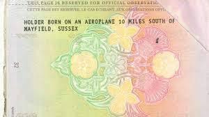 Shona Owen passaporto