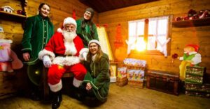 Casa Babbo Natale bambini
