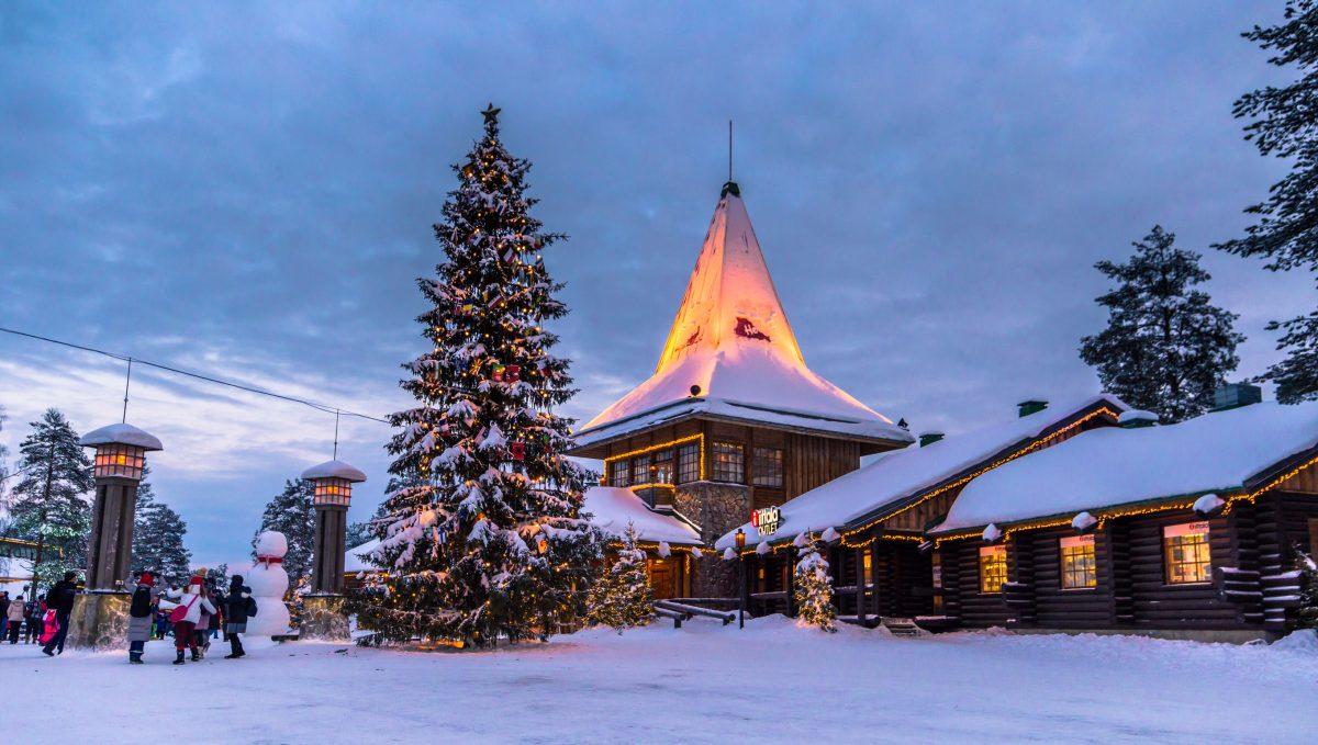 Rovaniemi Finlandia Villaggio Di Babbo Natale.Rovaniemi Viaggio Nella Vera Casa Di Babbo Natale Rimborso Al Volo